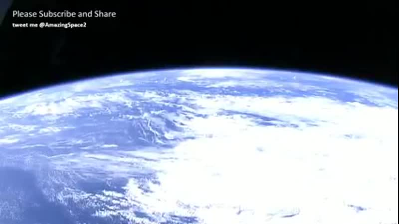 NASA Video Earth From Space Real Footage