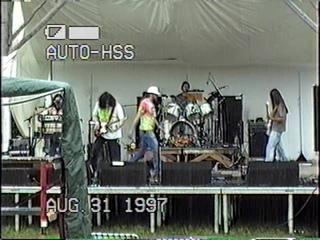 Melting Euphoria 8/31/1997 Strange Daze 97 NY live on stage