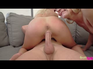 [BrattySis] Chloe Temple & Winter Bell - I Want To Suck It First All Sex, Threesome, FFM, Blonde, Blowjob, Creampie