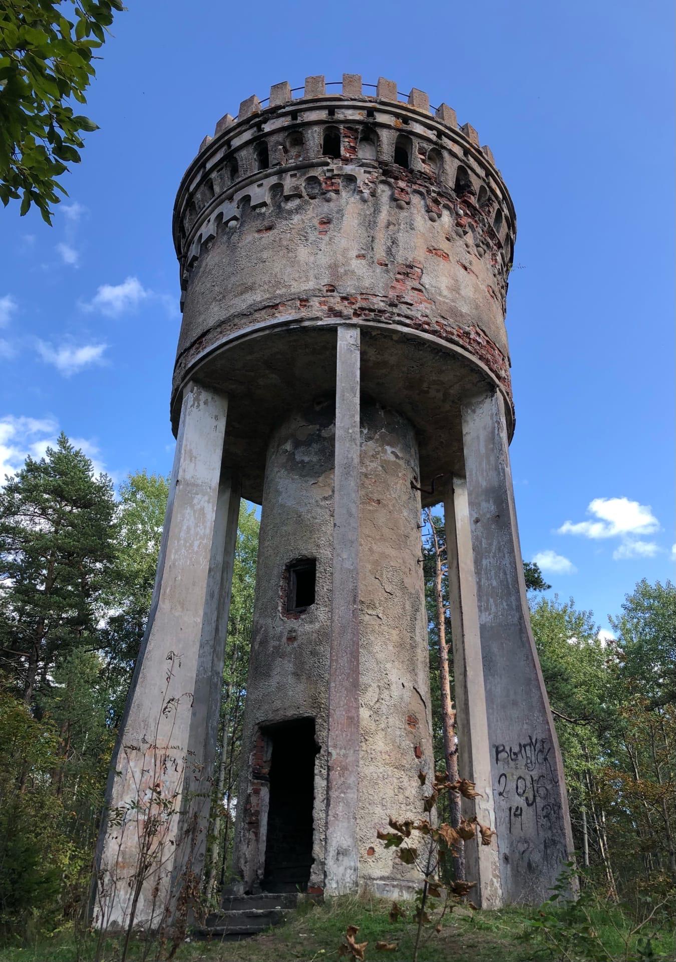 Выборг, Марковилла, смотровая водонапорная башня - Фото