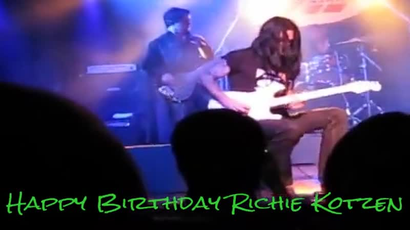 Happy Birthday Richie Kotzen!