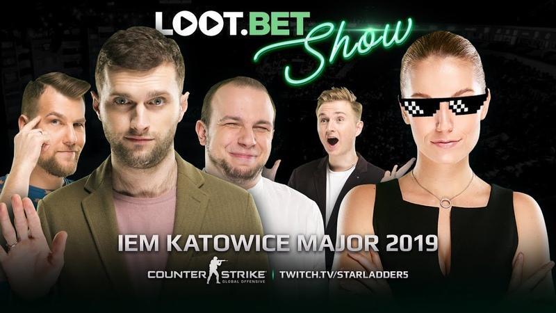 Легенды не подводят! | IEM Katowice Major 2019 | LOOT.BET SHOW CSGO