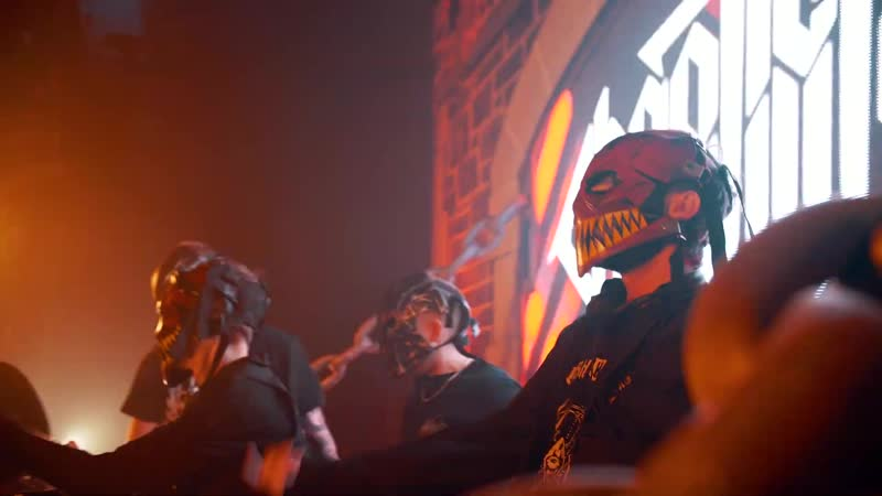 Chaotic Hostility Hatred Masked Rage Official Video