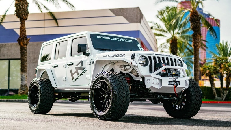 SEMA Jeep JL | 22x12 Xposed H500 Affliction