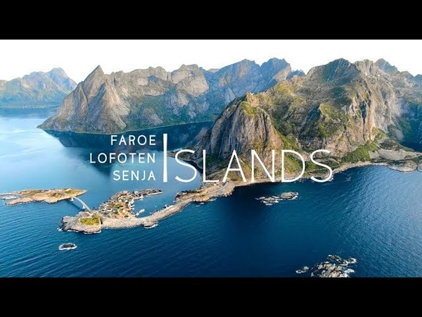 Northern Islands 4K Drone Faroe Lofoten Senja