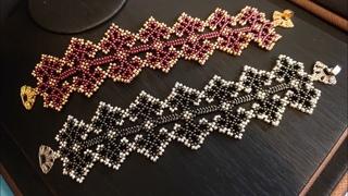 Boncuk Oyası Bileklik / Bead Lace Bracelet Making