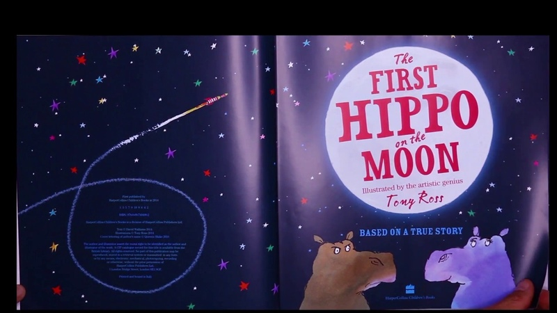 The First Hippo on The Moon | Children's Story Time