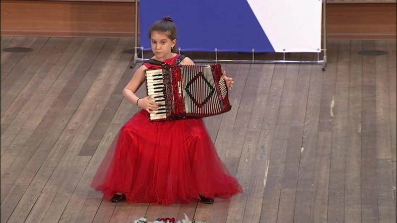 Абрэу Тико-тико исп. Алина Хлебнова (1 место в младшей группе конкурса им. А.В.Крупина)