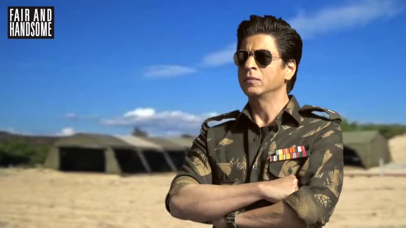 Shah Rukh Khan returns as a Fauji - Behind the Scene for Fair and Handsome