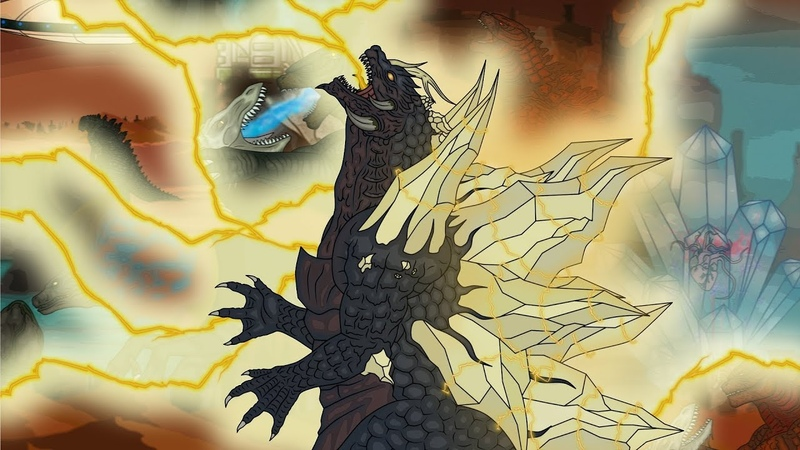 Кинг Конг против Годзиллы 23 King Kong vs Godzilla 23 SpaceGodzilla Awakening