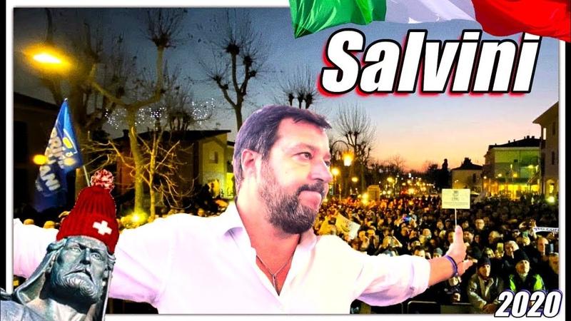 Salvini Jahr Rom zittert Regionalwahlen Emilia Romagna Kalabrien