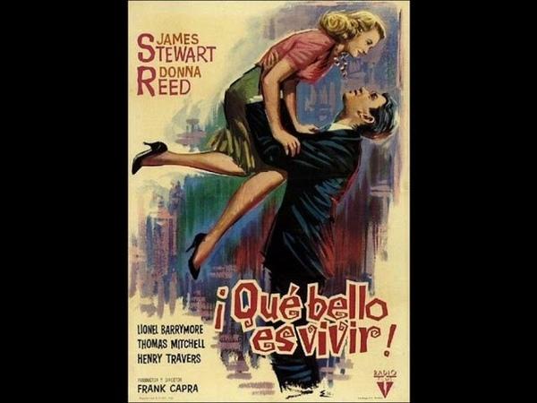 Qué bello es vivir Frank Capra 1946 Película completa en español de España