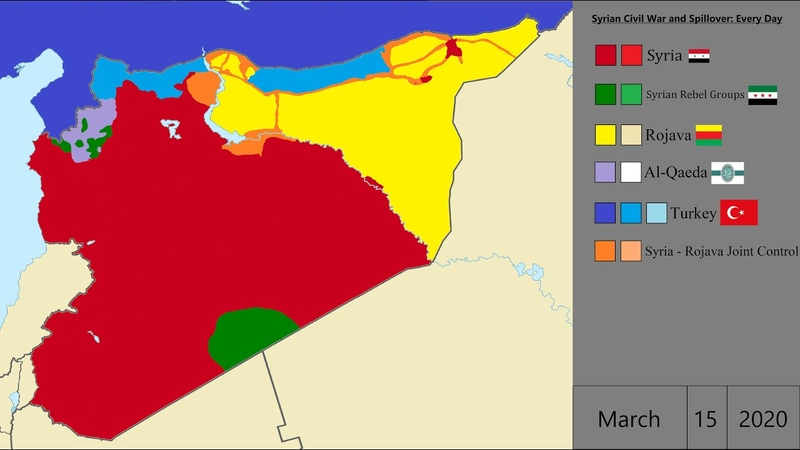 UPDATE Syrian Civil War and Spillover Every Day